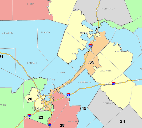 Texas Congressional Redistricting Breakdown Lawrence Persons - Voting disrict map of us